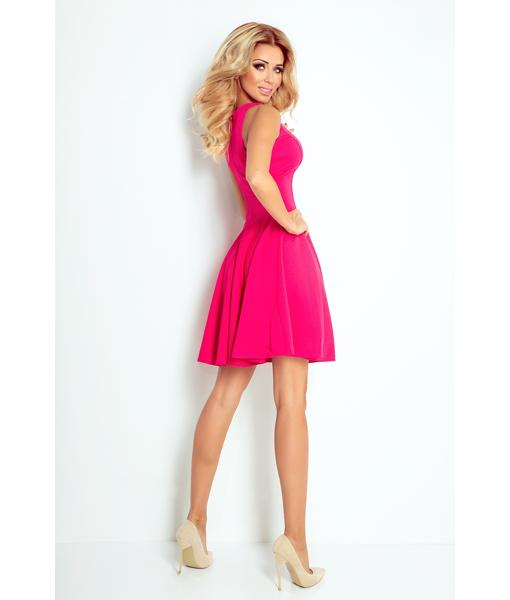 523cdc309886 Κομψό Αμάνικο Φόρεμα Φούξια – WearStardust